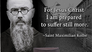 Saint Maximilian Mary Kolbe Saint of the Day for August 14-Prayer To The Immaculate Virgin Mary By St. Maximilian Mary Kolbe (Best Of Prayer N Lunch)