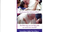 Through The Church Year With a Mercy Focus- Refection by Pope Francis