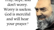 Prayer To Saint Pio-Prayer To The Sacred Heart of Jesus-From Washington DC Aired 9-23-15
