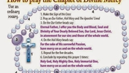 Divine Mercy Sunday-Chaplet of Divine Mercy (Best of Prayer N Lunch)