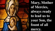 Prayer To Mary, Mother Of Mercy by St Pope John Paul II